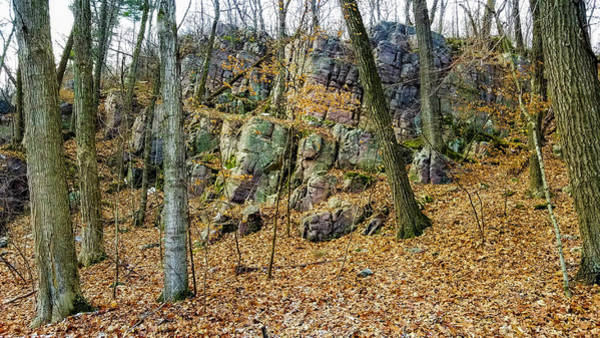 Photograph - Devils Lake Rock Formation  by Ricky L Jones
