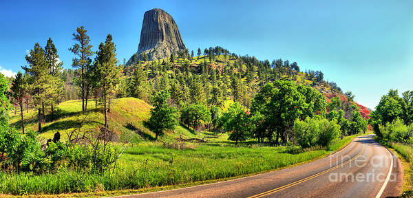 Photograph - Devils Tower Curve by Adam Jewell