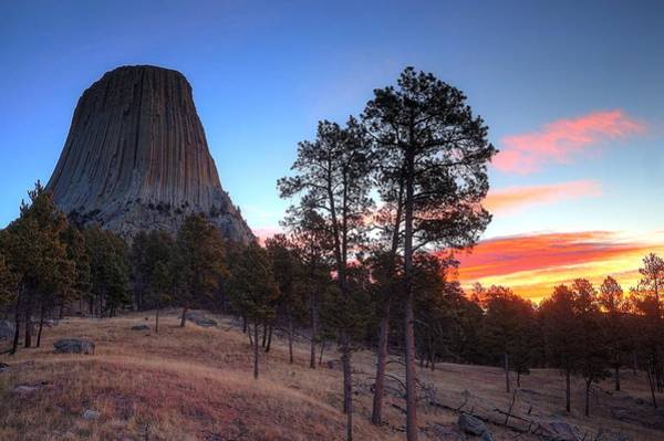 Wall Art - Photograph - Devils Tower by David Ross