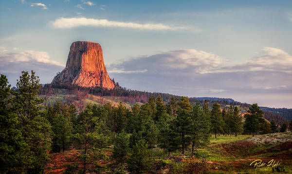 Photograph - Devil's Tower Morning by Rikk Flohr