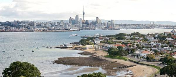 Devonport Wall Art - Photograph - devonport under Auckland city by Raimond  van Donk