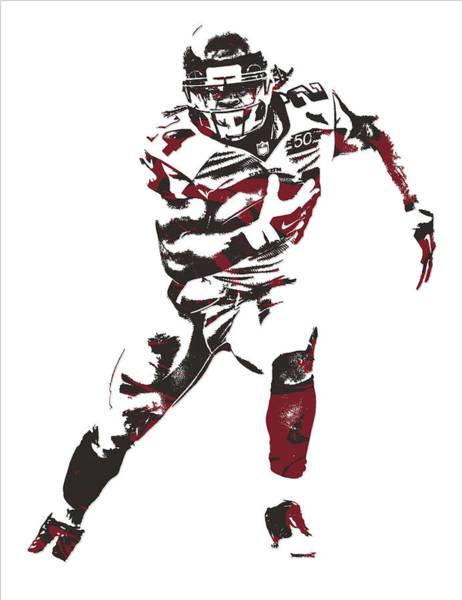 Atlanta Falcons Mixed Media - Devonta Freeman Atlanta Falcons Pixel Art 11 by Joe Hamilton