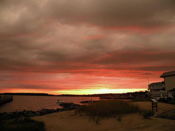Mixed Media - Dewey Beach Bayside by Trish Tritz