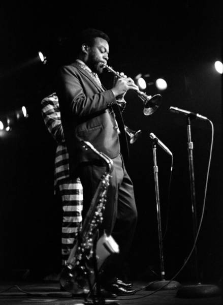 Photograph - Dewey Redman On Musette by Lee Santa