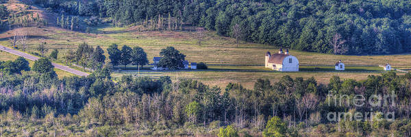 Wall Art - Photograph - Dh Day Farm From Overlook by Twenty Two North Photography
