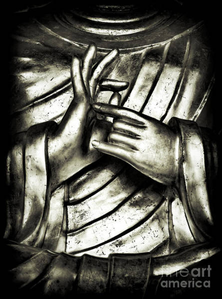 Wall Art - Photograph - Dharmachakra Mudra by Tim Gainey