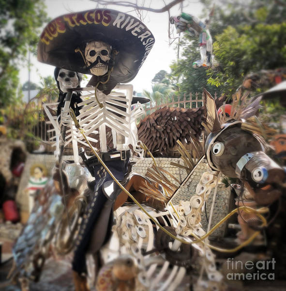 Photograph - Dia De Los Muertos by Gregory Dyer