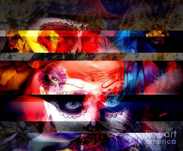 Digital Art - Dia De Muertos by John Rizzuto