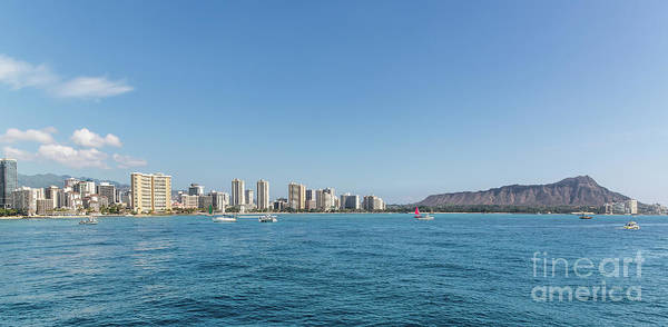 Photograph - Diamond Head Beachfront by Jon Burch Photography