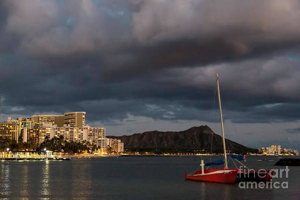 Photograph - Diamond Head Evening by Jon Burch Photography