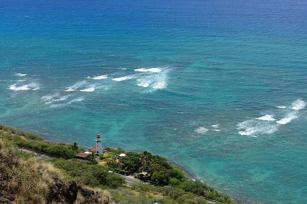 Photograph - Diamond Head Light House by Michael Scott