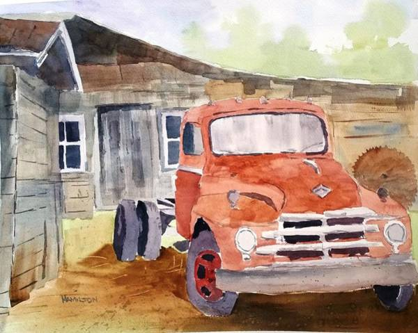 Painting - Diamond In The Rough by Larry Hamilton