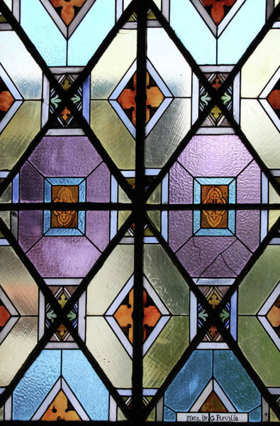 Photograph - Diamond Shapes In The Church by Tatiana Travelways
