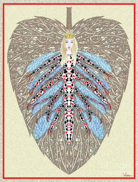 Digital Art - Diamond Trump, The Insect Faerie by Lise Winne