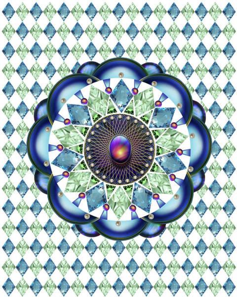 Wall Art - Mixed Media - Diamonds And Pearls by Ellen Henneke