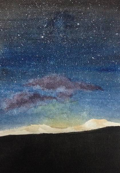 Painting - Diamonds In The Sky by Elizabeth Mundaden
