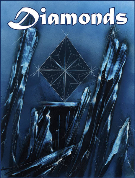 Painting - Diamonds Suit by Jason Girard