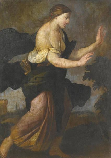 Giulio Painting - Diana by Giulio Carpioni