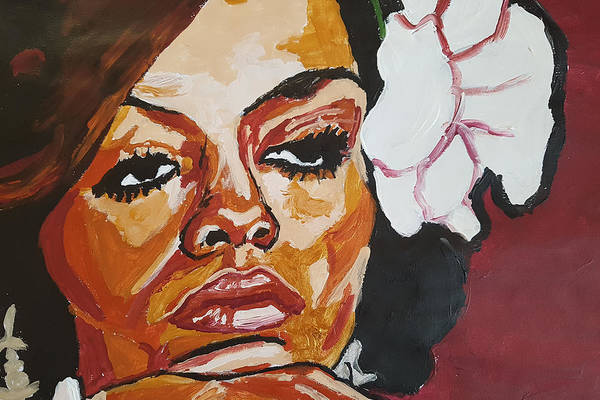 Painting - Diana Ross by Rachel Natalie Rawlins