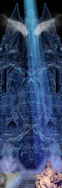 Digital Art - Dichotomy II by Kenneth Armand Johnson