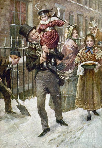 Painting - Dickens: A Christmas Carol by Granger