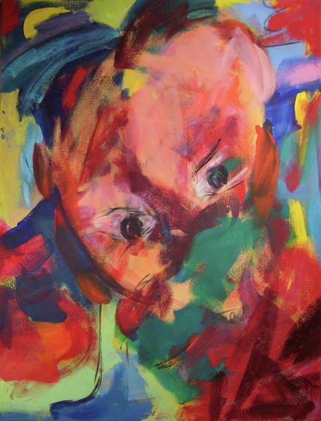 Painting - Die Tagtraeumerin by Annette Kunow