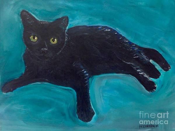 Painting - Diego Von Drago by Susan Hendrich