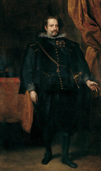 Painting - Diego De Mexia, Marquess Of Leganes by Anthony van Dyck