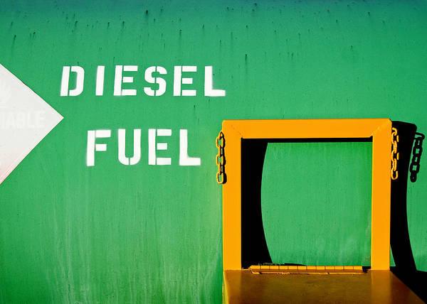 Photograph - Diesel Green by Todd Klassy