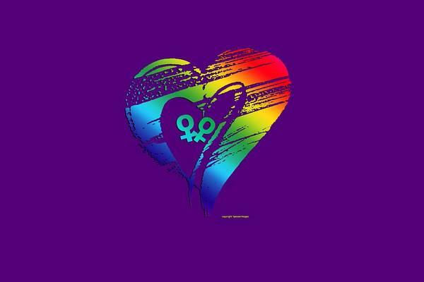 Digital Art - Different Loving 4 by Bill Posner