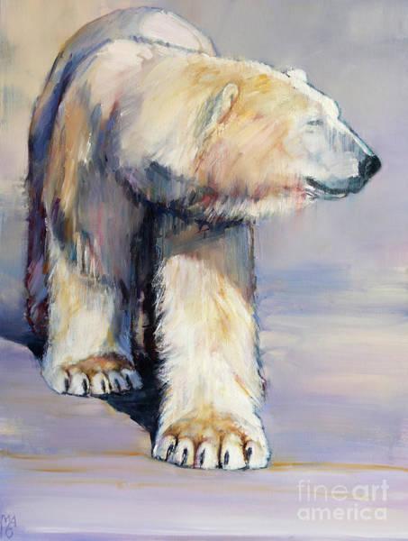 Winter Walk Painting - Diffuse by Mark Adlington