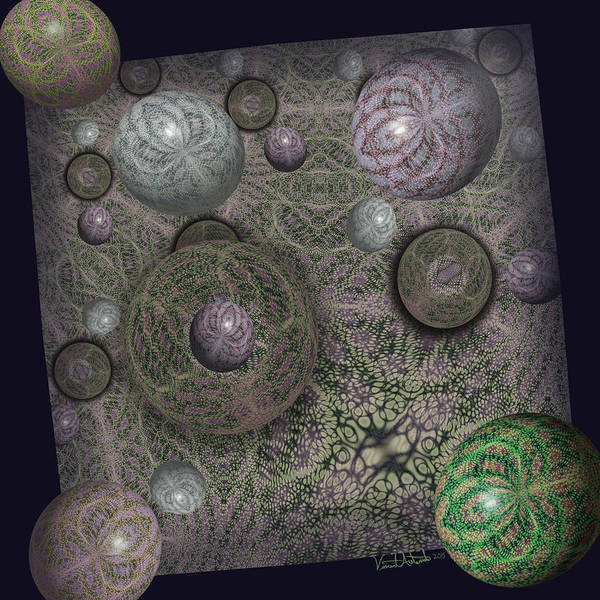 Digital Art - Diffusion by Vincent Autenrieb