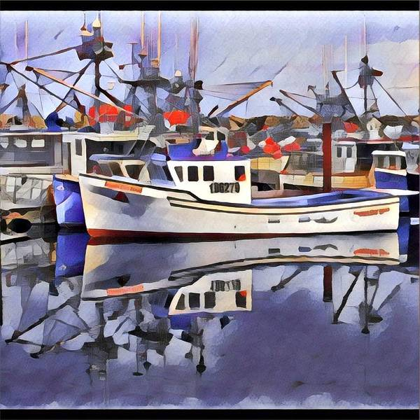 Photograph - Digby Boat by David Matthews
