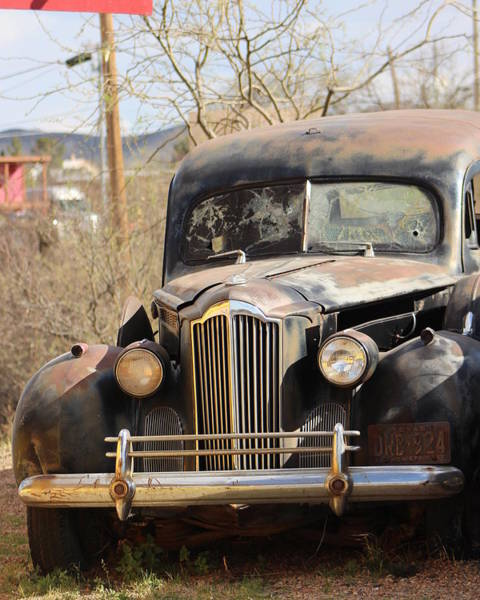 Photograph - Digger O Balls Funeral Pallor Hearse by Colleen Cornelius