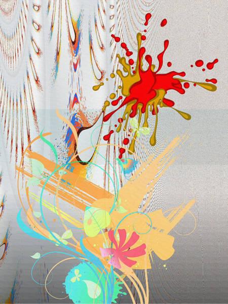 Digital Art - Digital Abstract No. 1 by Robert Kernodle