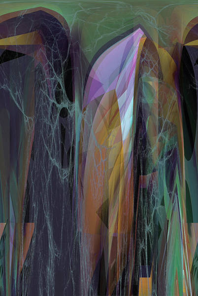 Digital Art - Abstract No 19 B by Robert G Kernodle