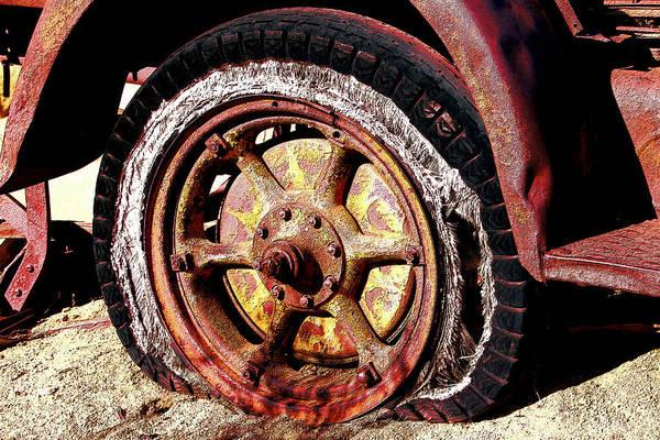 Scrap Iron Digital Art - Digital Antiquarian Wheel Df Time by Valdecy RL
