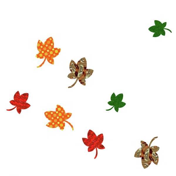 Digital Art - Digital Autumn Whimsy by Annette Hadley
