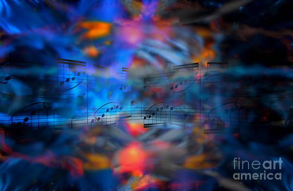 Digital Art - Digital Dream Divertimento by Lon Chaffin