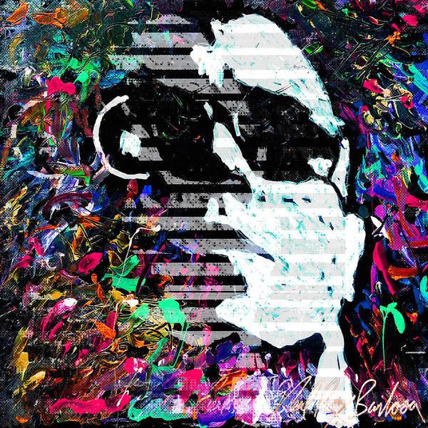 Painting - digital Lou Reed by Neal Barbosa