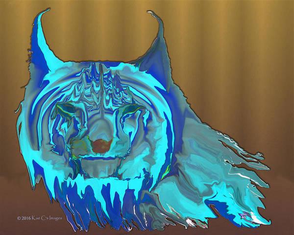 Digital Art - Digital Lynx by Kae Cheatham