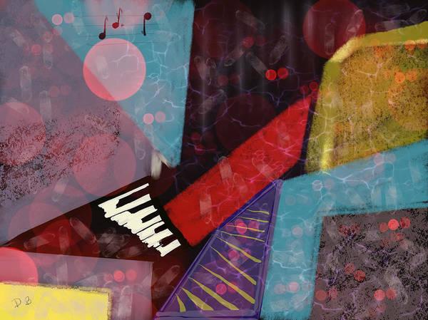 Digital Art - Digital Music by Dick Bourgault