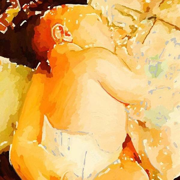 Photograph - Digital Painting Of My Grandson Roland by Melissa Abbott