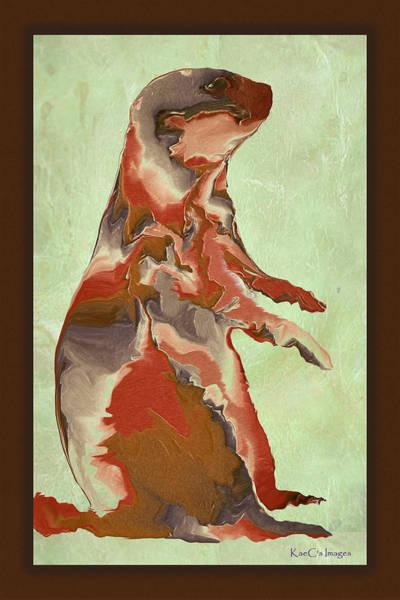 Digital Art - Digital Prairie Dog by Kae Cheatham