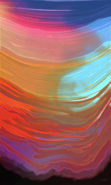 Digital Art - Digital Watercolor Abstract 031417 by Matt Lindley