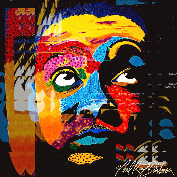 Digital Art - Digital Wynton Marsalis by Neal Barbosa