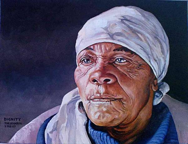Painting - Dignity by Tim Johnson