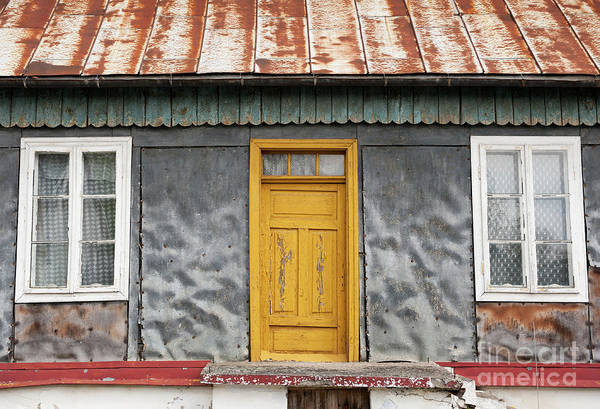 Wall Art - Photograph - Dilapidated Home In Janowiec Village by Arletta Cwalina