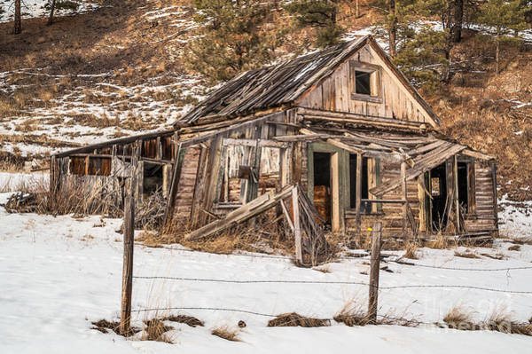 Photograph - Dilapidated Home by Sue Smith