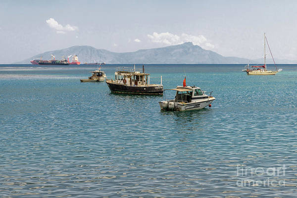 Photograph - Dili Harbour 01 by Werner Padarin